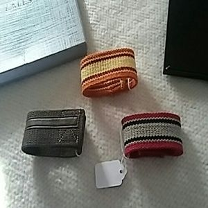 ✔Unisex bungle cuff bracelet Set of 3